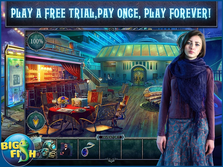 Fear for Sale: Endless Voyage HD - A Mystery Hidden Object Game screenshot-0