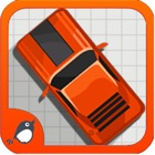 Una Carrera Doodle retro de coches - Nitro Street Racing icon