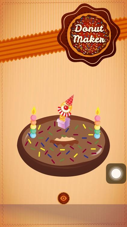 Donut Maker Fun Game screenshot-3