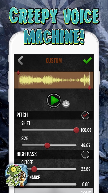 Scary Voice Changer – Sound Generator and Audio Effect s