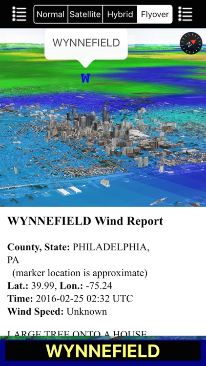 US NOAA Storms with NOAA Radar 3D Pro - Tornado Hail Wind Alerts