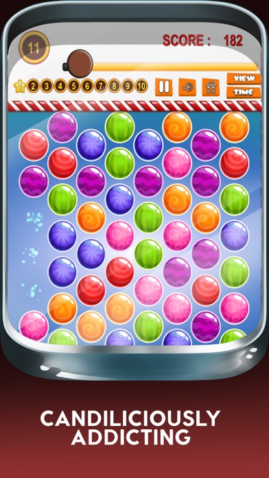 Yummy Juicy Candy Match: Sweet Factory Puzzle Game screenshot three
