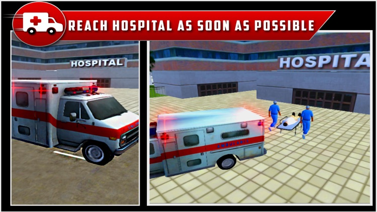 City Ambulance Rescue Drive 3D screenshot-4