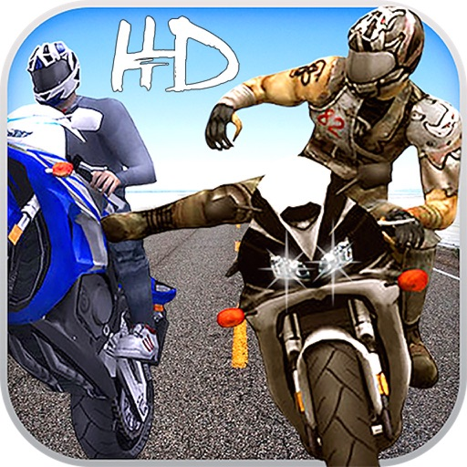 Road Rush Motorbike Rider - Ride the Moto bike in highway