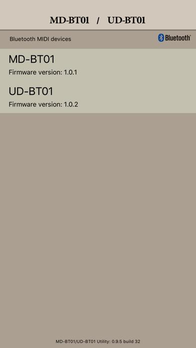 MD-BT01/UD-BT01 Utility