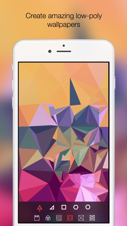 Centroid - Low poly photography in real-time