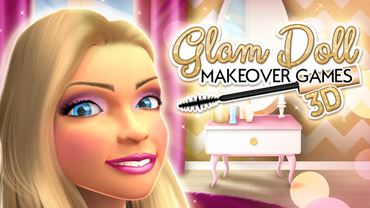 glam doll makeover games 3d beauty makeup and hair salon