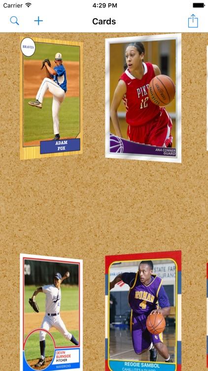 Sports Card Mashup