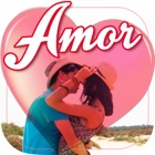 Images with words of love in Spanish icon