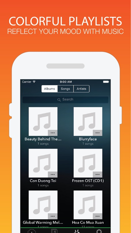 Pocket Music - Extra Device Audio Streamer from Box Drive screenshot-4