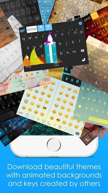 iGIF – Custom Swipe & GIF Keyboards Free screenshot-0