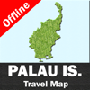 PALAU ISLANDS – GPS Travel Map Offline Navigator - Vishwam B