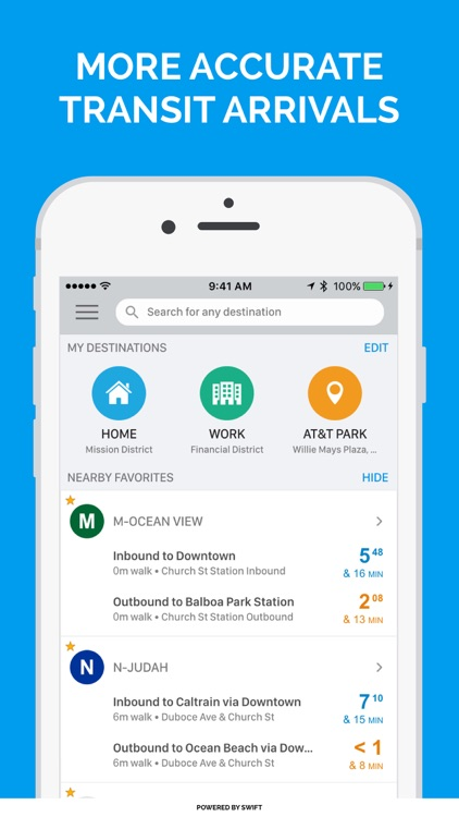Swiftly: Real-Time Transit App