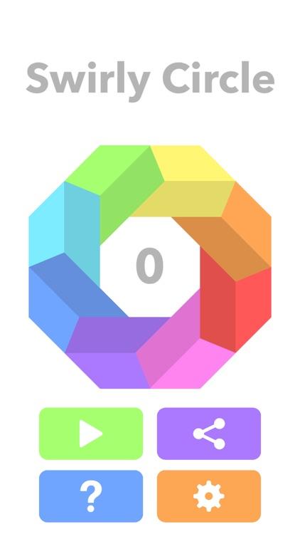 Swirly Circle screenshot-0