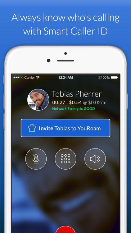YouRoam: WiFi phone calls and text messaging