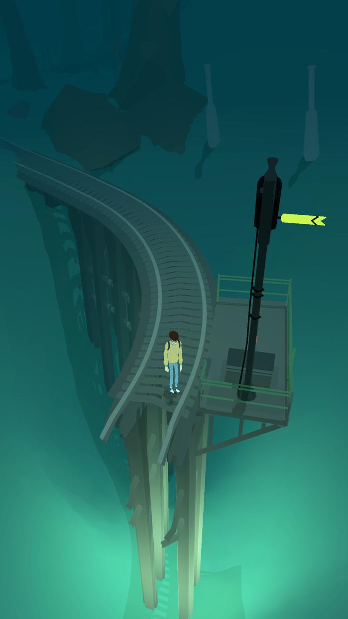 Lost Tracks Screenshot