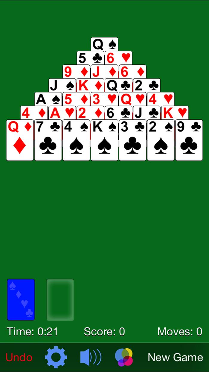 Pyramid Solitaire· Screenshot