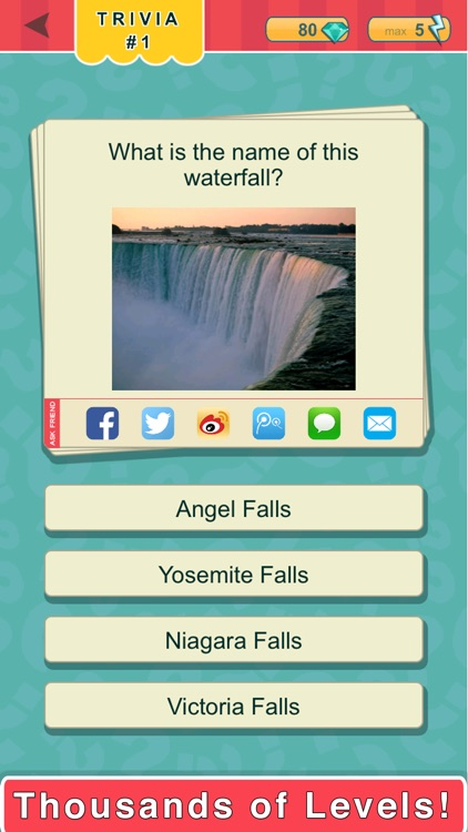 Trivia Quest™ Geography - trivia questions screenshot-0
