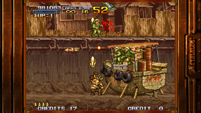 Screenshot from METAL SLUG 2