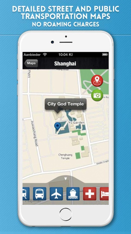 Shanghai Travel Guide with Metro Map and Route Planner Navigator screenshot-3