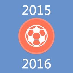 European Football History 2015-2016