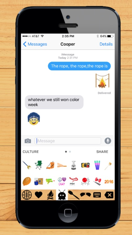 Camp Emoji screenshot-1