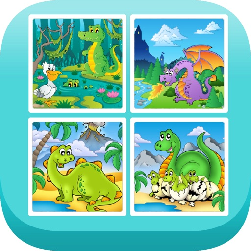 Find The Pairs - Dino Edition icon