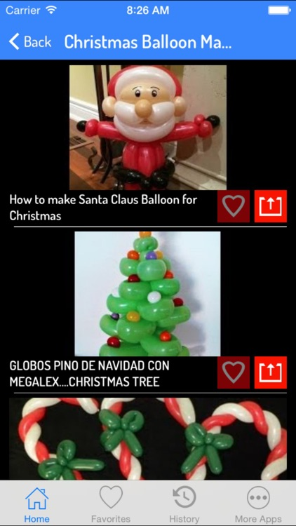 Balloon Making - Christmas Speical