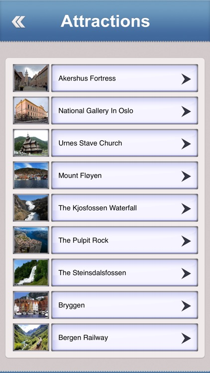 Norway Offline Travel Guide