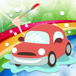 Vehicle Coloring Book - All In 1 Car Draw Paint And Color Pages Games For Kids