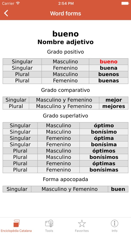 Compact Spanish-Catalan Catalan-Spanish Dictionary from Enciclopèdia Catalana screenshot-3