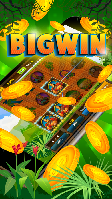 Slots Jungle Treasures - Free Vegas Casino Jackpot Win screenshot two
