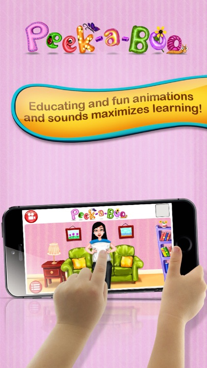 Peekaboo I see You – Educating discovery playground for preschooler baby to Kids