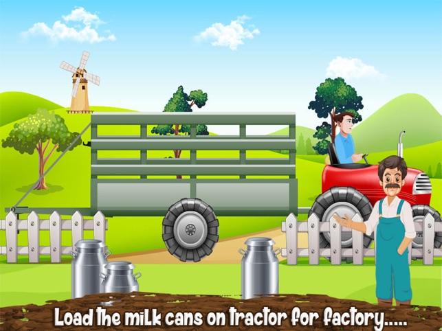Milk plant game