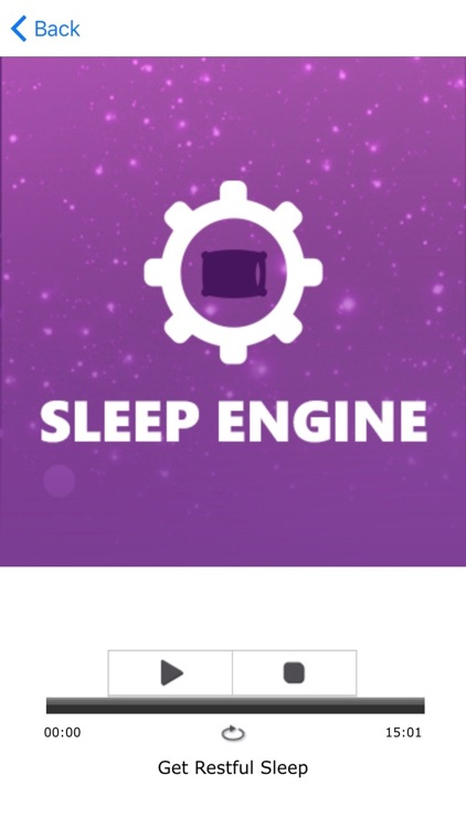Sleep Engine Pillow Hypnosis