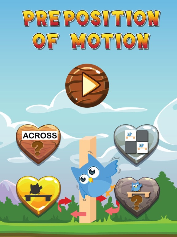 Screenshot 1 For Baby Learn Preposition Of Motion English Vocabulary Learning Kids And