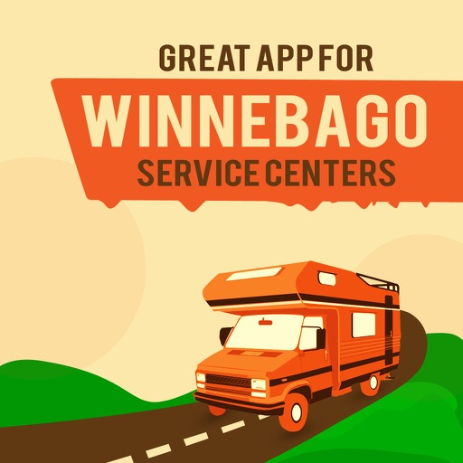 Great App for Winnebago Service Centers