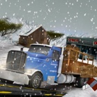 Winter Highway Truck Driver Rush 3D Simulator icon