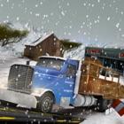 зима водитель грузовика шоссе пик 3D симулятор icon
