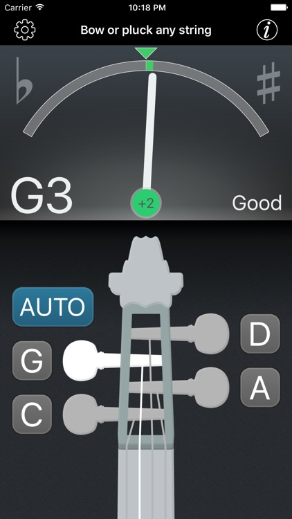 Precision Viola Tuner screenshot-0