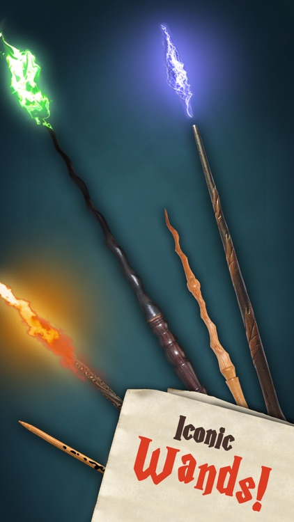 Magic Wands: Wizard Spells