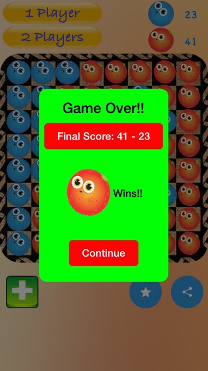 Fruity Othello-Abstract Strategy Game screenshot-4