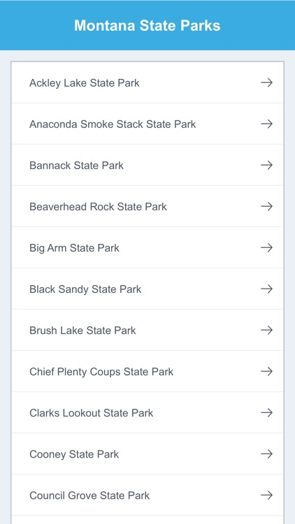 Montana State Parks & National Parks screenshot-1