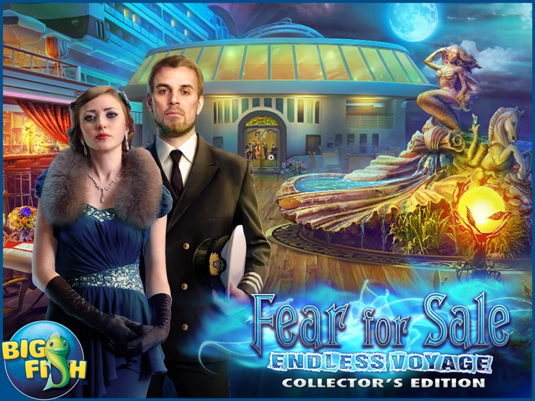 Fear for Sale: Endless Voyage HD - A Mystery Hidden Object Game screenshot-4