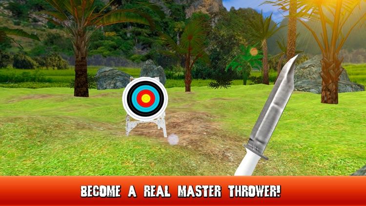 Knife Throwing Master 3D Full screenshot-3