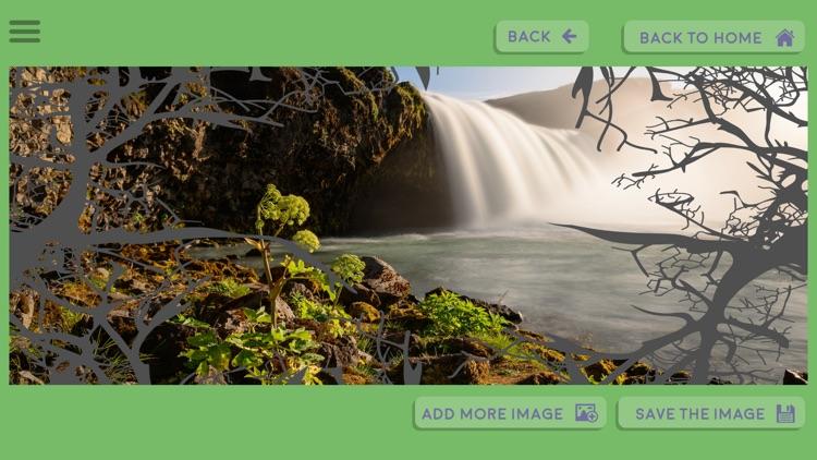 Wild Jungle Theme Photo Frame/Collage Maker and Editor screenshot-3