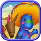 Dino-Buddies – South Of The Border Interactive eBook App (English) icon