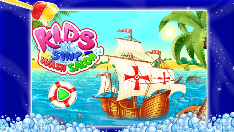 Kids Ship Wash Salon – Cleanup & repair pirate ships in this crazy mechanic game
