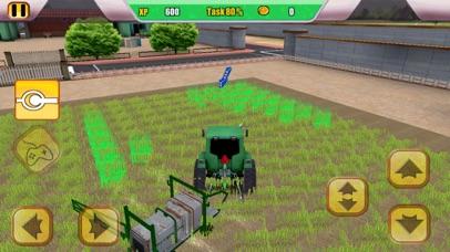 Combine Harvester Tractor Simulator