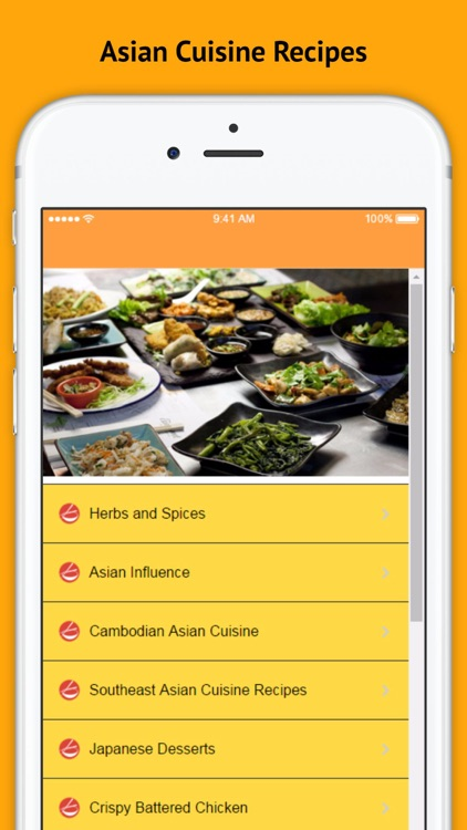 Asian Cuisine - Authentic Asian Cuisine Recipes screenshot-3